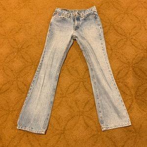 Ralph Lauren Denim Blue Jeans size 2 bootcut